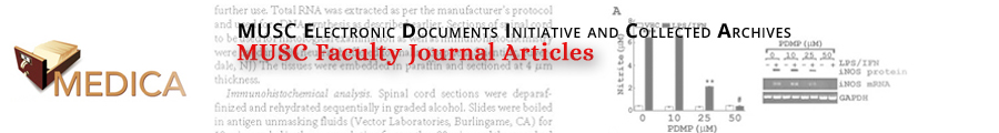 MUSC Faculty Journal Articles