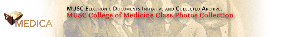 MUSC College of Medicine Class Photos Collection