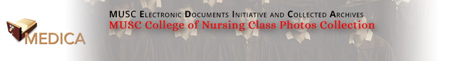 MUSC College of Nursing Class Photos Collection