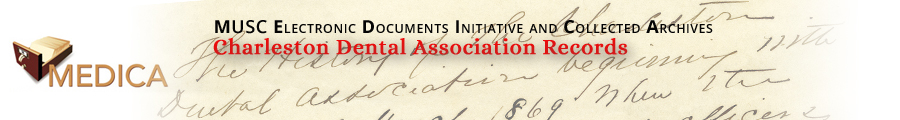 Charleston Dental Association Records