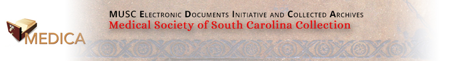 Medical Society of South Carolina Digital Collection