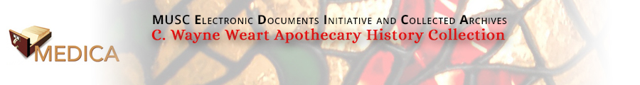 C. Wayne Weart Apothecary History Collection
