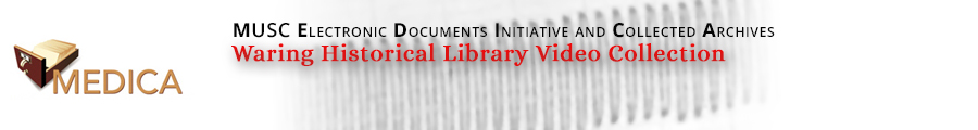 Waring Historical Library Video Collection Header