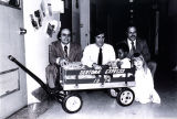 Sertoma wagon at Hospital