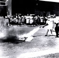 Fire Extinguisher Demonstrated By Nurses