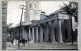 Earthquake scene, St. Michael's Church and Guard House