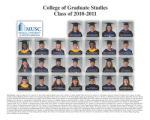 College of Graduate Studies, class of 2010-2011