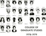 College of Graduate Studies, 1978-1979