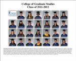 College of Graduate Studies, class of 2011-2012