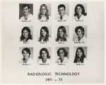 Radiologic technology, 1971-1973