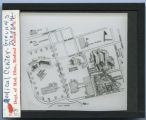 Medical Center grounds diagram,...