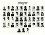 MUSC College of Medicine First Year Students 1986 M-S