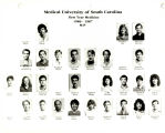 MUSC College of Medicine First Year Students 1987 M-P