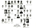 MUSC College of Medicine Seniors 1985 A-E