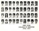 MUSC College of Medicine First Year Students 1977 G-K