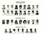 MUSC College of Medicine First Year Students 1986 T-Y