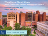 Warp speed ahead! Crash! How a failed project identified a much larger obstacle