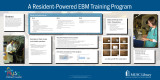 A Resident- Powered EBM Training Program