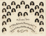 1945 Graduates of the Medical College of the State of South Carolina School of Nursing
