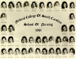 1961 Graduates of the Medical College of the State of South Carolina School of Nursing