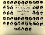 1965 Graduates of the Medical College of the State of South Carolina School of Nursing