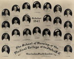 1947 Graduates of the Medical College of the State of South Carolina School of Nursing