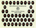 1995 Graduates of the Medical University of South Carolina College of Nursing Master's Degree...