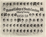 1959 Graduates of the Medical College of the State of South Carolina School of Nursing