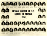 1963 Graduates of the Medical College of the State of South Carolina School of Nursing