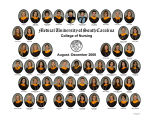 2008 Graduates of the Medical University of South Carolina College of Nursing (August-December)