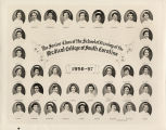 1956 Graduates of the Medical College of the State of South Carolina School of Nursing