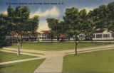 U.S. naval hospital and grounds, Parris Island, S.C.