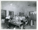 Anatomy class, MCSSC, early 20th century