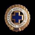 Charles Es'Dorn Hospital Training School Pin