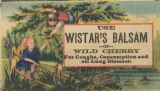 Use Wistar's balsam of wild cherry for coughs, consumption and all lung diseases
