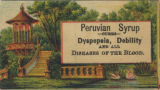 Peruvian syrup cures dyspepsia, debility and all disease of the blood