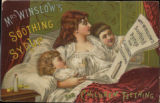 Mrs. Winslow's soothing syrup for children teething